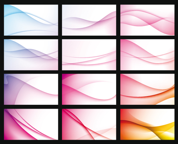free vector Vector background dream dynamic curve