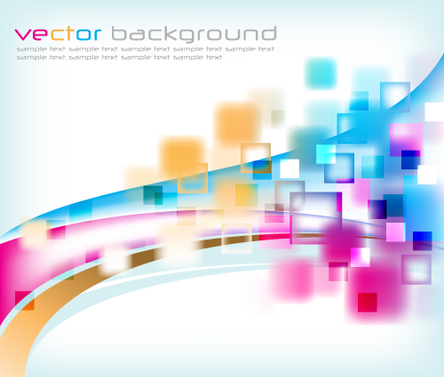 free vector Vector background dream symphony