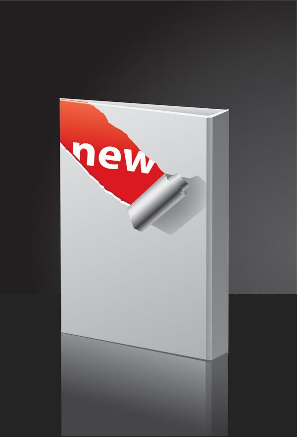 free vector Vector blank folder