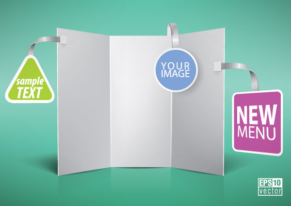 free vector Vector blank panels
