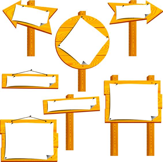 free vector Vector board bulletin board