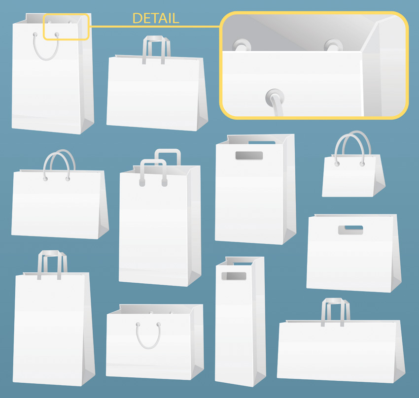 free vector Vector box bag