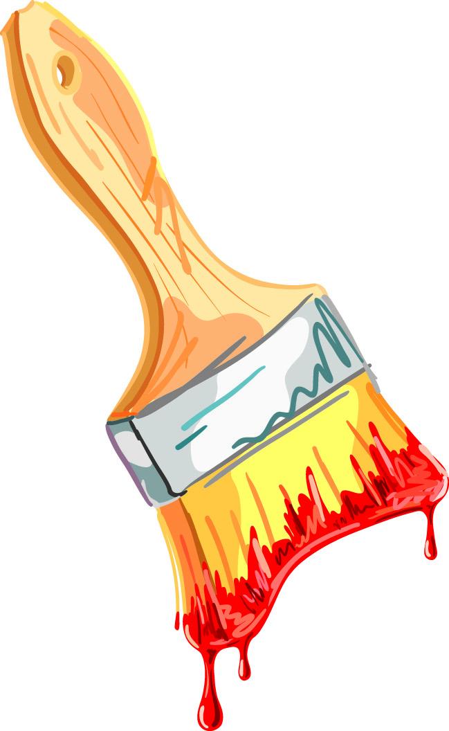 Paint Brush Vector Eps
