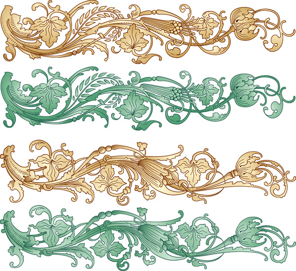 Chinese Patterns Vector Patterns Vector Chinese