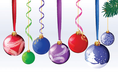 Hanging christmas balls decoration png #35240 - Free Icons and PNG ...