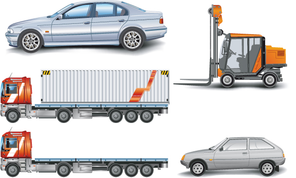 free vector Vector collection of transport