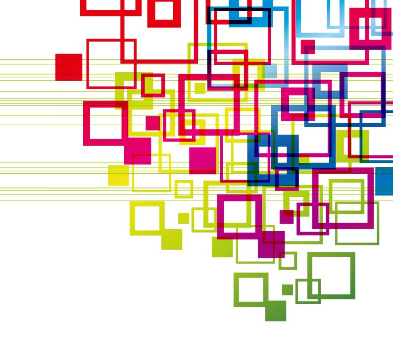 free vector Vector Colorful Squares Vector Backgound