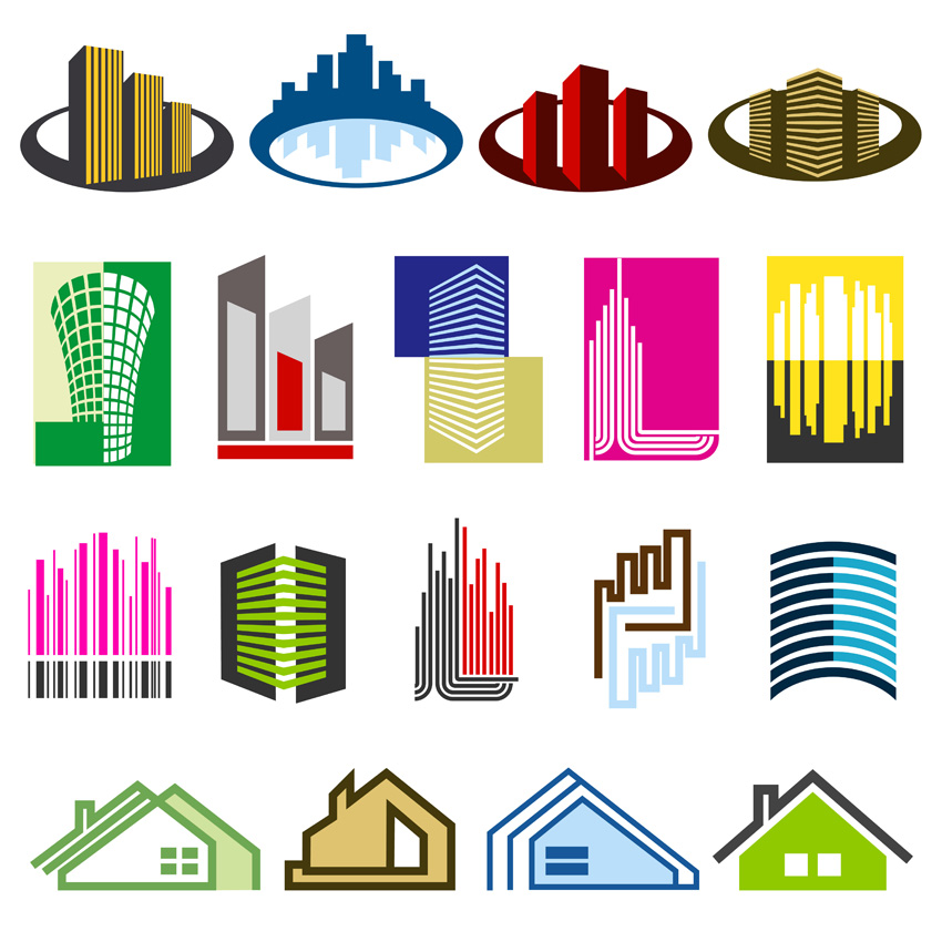 free vector Vector construction of the main house