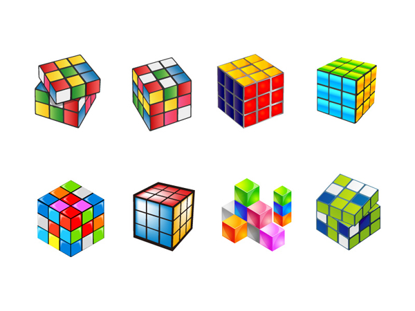 free vector Vector Cube