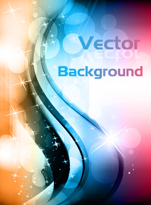 free vector Vector dynamic background 4 glare
