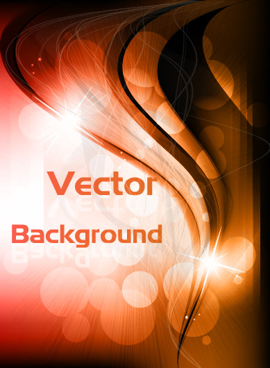 free vector Vector dynamic background 5 glare