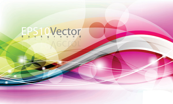free vector Vector dynamic background beautifully 1 symphony
