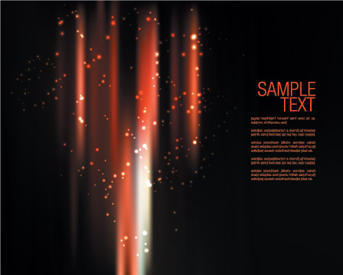 free vector Vector dynamic background glare