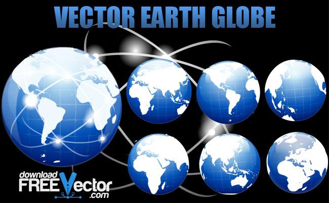 free vector Vector Earth Globe