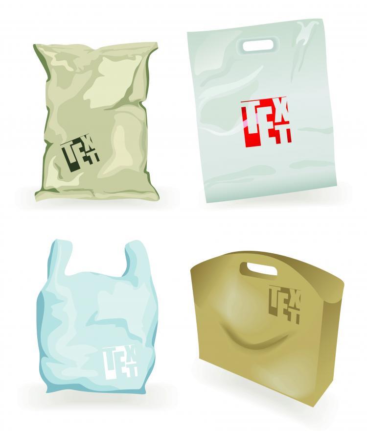free vector Vector exquisite bag