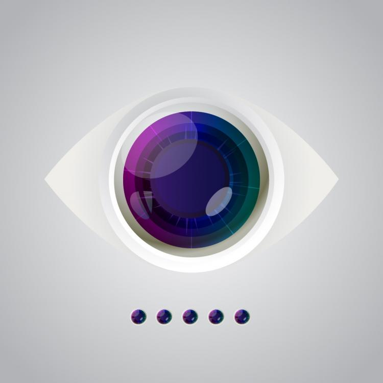 free vector Vector eye