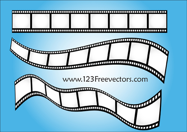 free vector Vector Film Strip-2