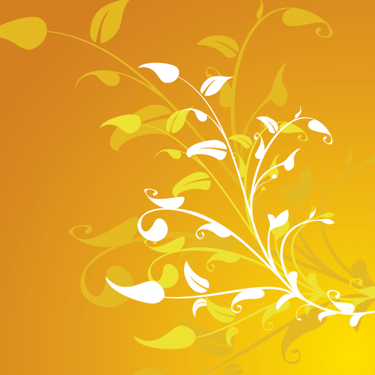 Vector Flower Decoration Background Free Vector / 4Vector for Vector Flower Background Png  55dqh