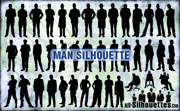 free vector Vector Freebie - Man Silhouette