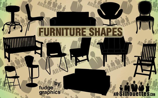 free vector Vector Furniture
