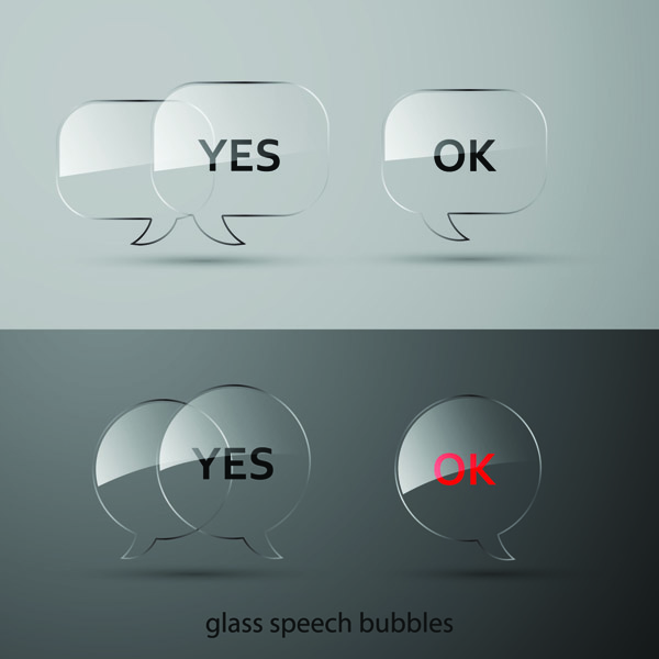 free vector Vector glass buttons texture