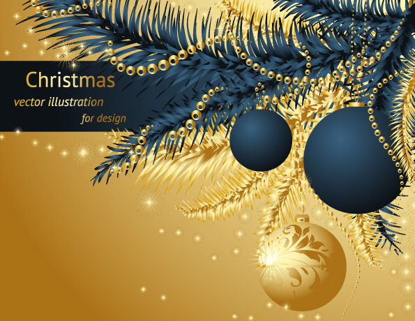 Christmas Background Images Gold.Gold Christmas 25223 Free Eps Download 4 Vector