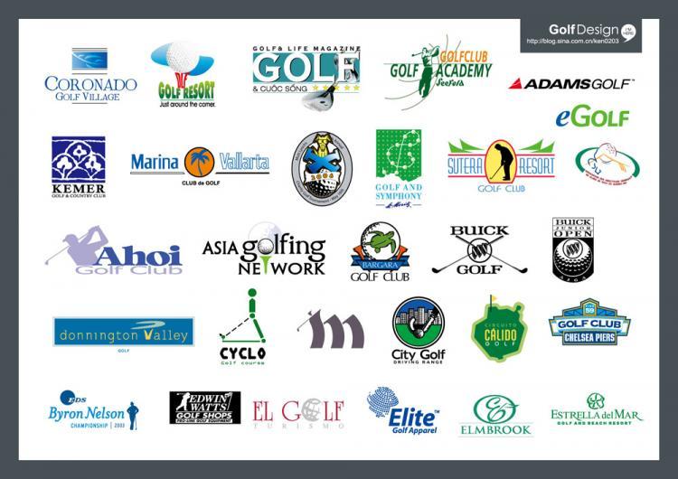 free vector Vector golf logo1