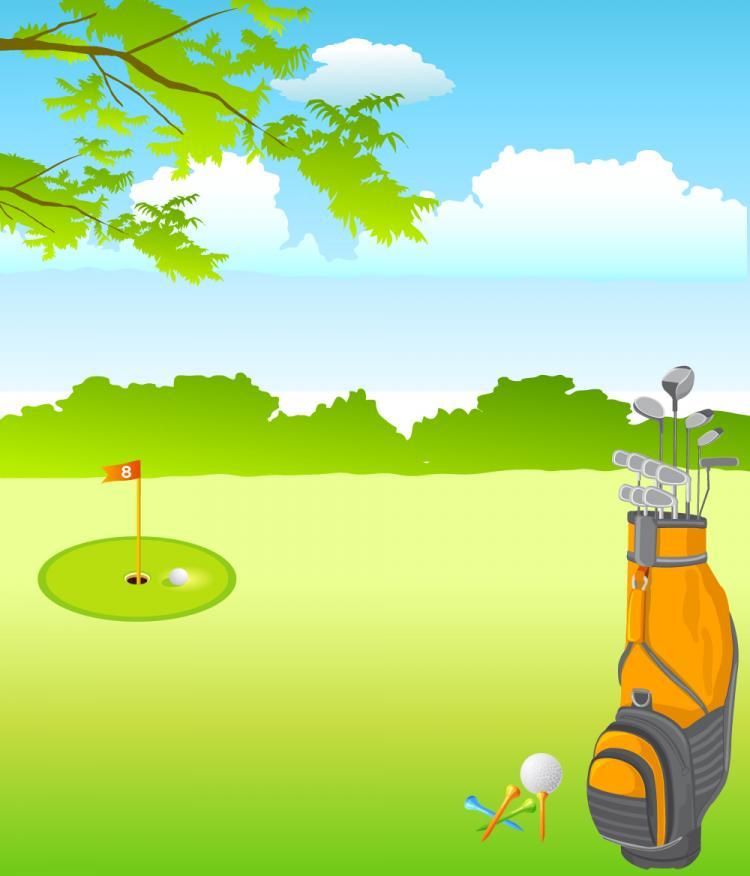free vector Vector Golf
