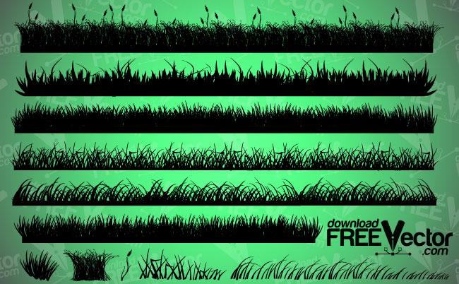 free vector Vector Grass 124210