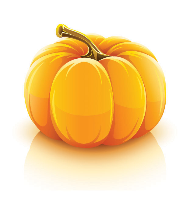 vector halloween pumpkin free vector / 4vector