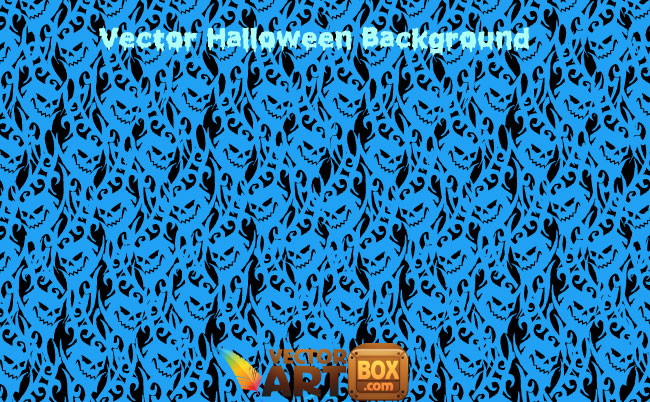free vector Vector Halloween Wallpaper