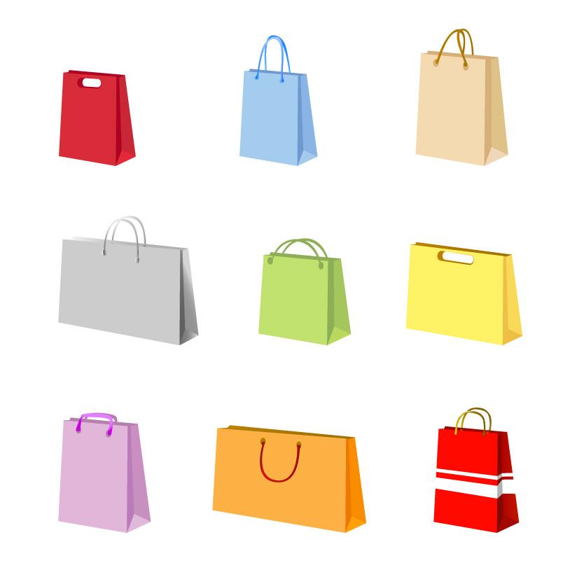 free vector Vector Handbags