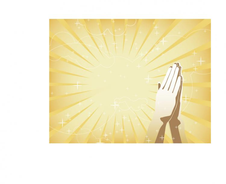 free vector Vector hands together