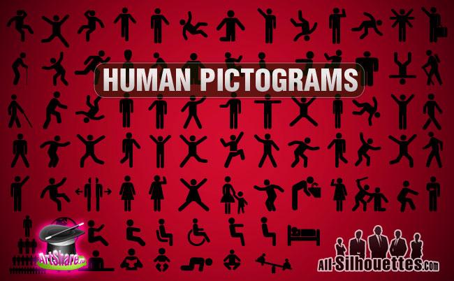 free vector Vector Human Pictogram