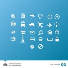 free vector Vector Icons 3