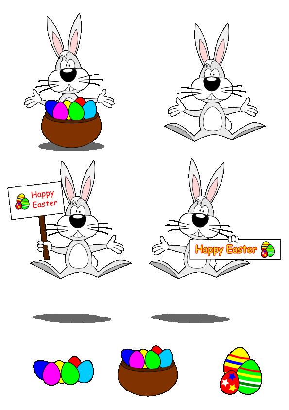 free vector Vector Illustration: Easter Bunny