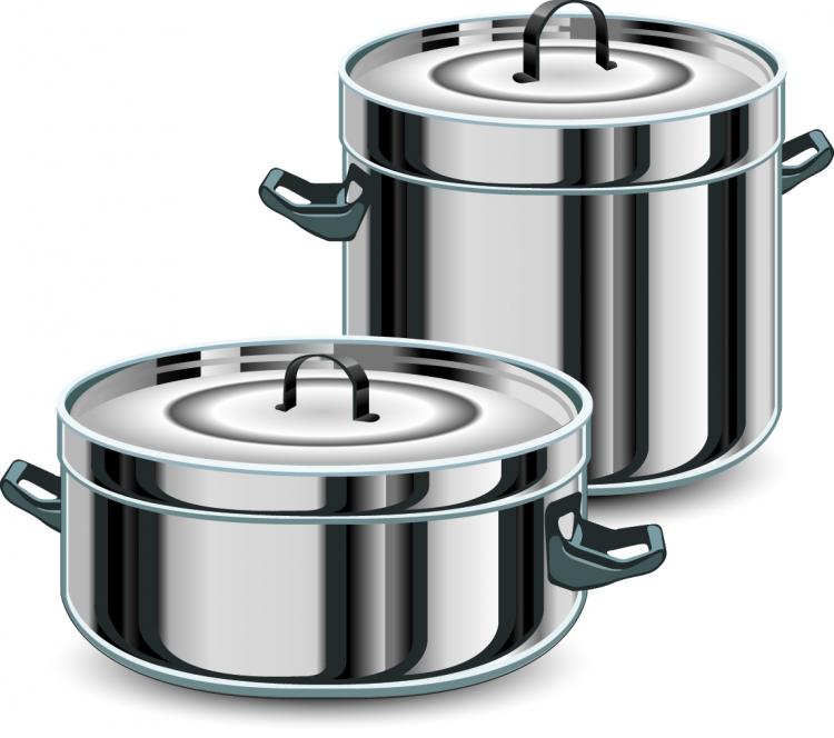 Vector kitchen utensils free vector 4vector for Art and cuisine cookware
