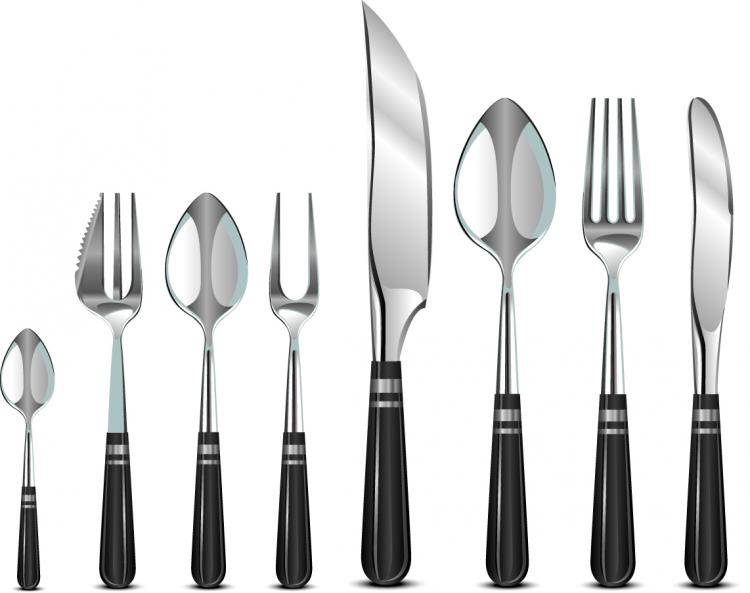 sku flatware set tools nutrichef piece kitchen utensils pyle cooking