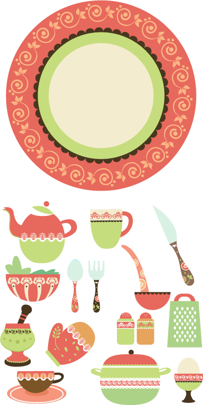 free vector Vector lifestyle products