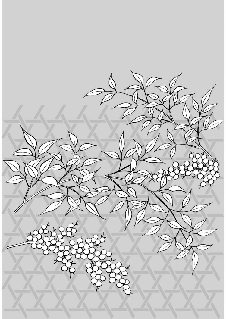 free vector Vector line drawing of flowers-36