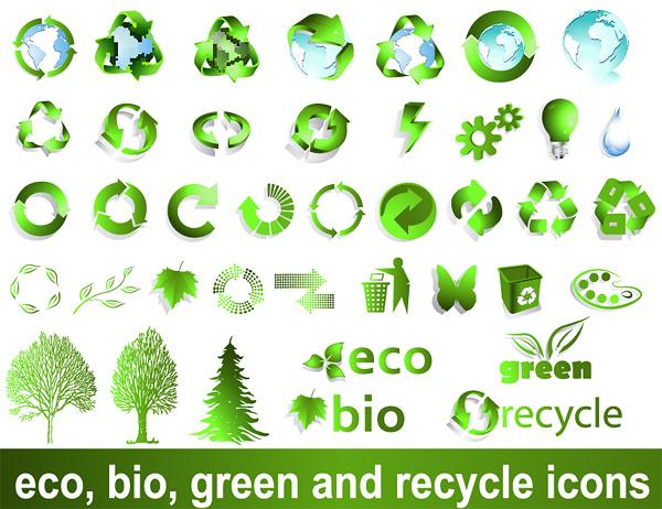 free vector Vector logo recyclable