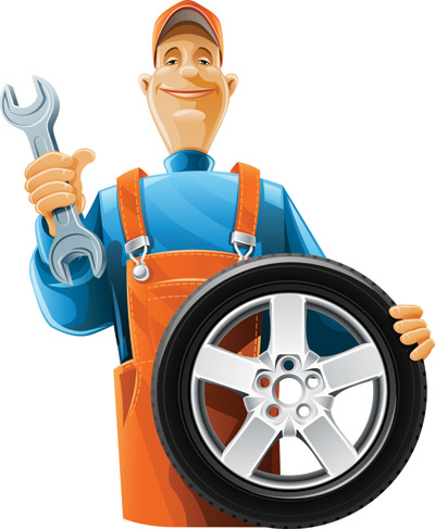 free vector Vector maintenance man