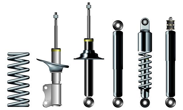 free vector Vector metal parts accessories