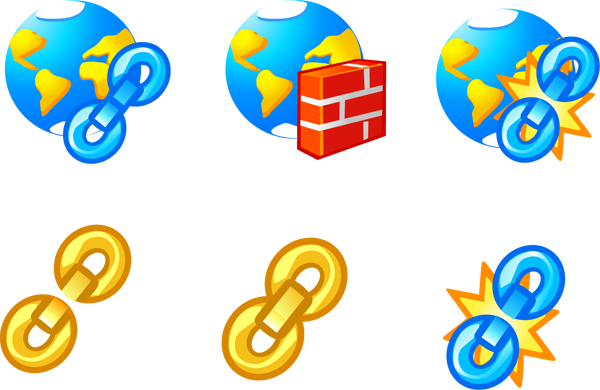 free vector Vector Network Icons