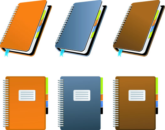 free vector Vector Notebooks