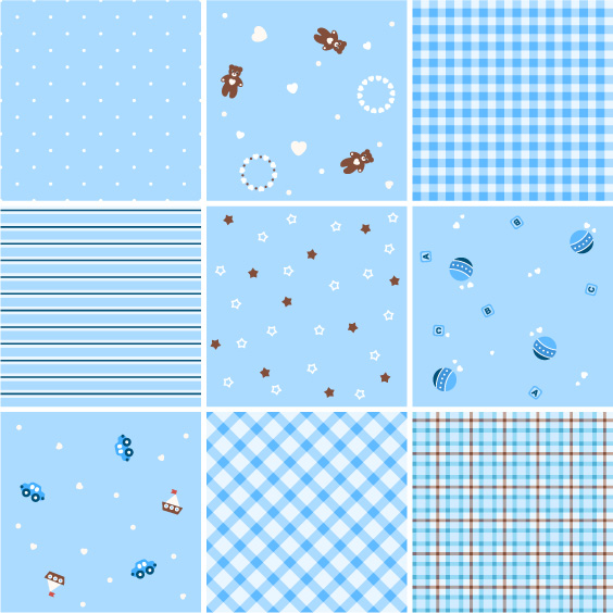 free vector Vector number of a variety of background material