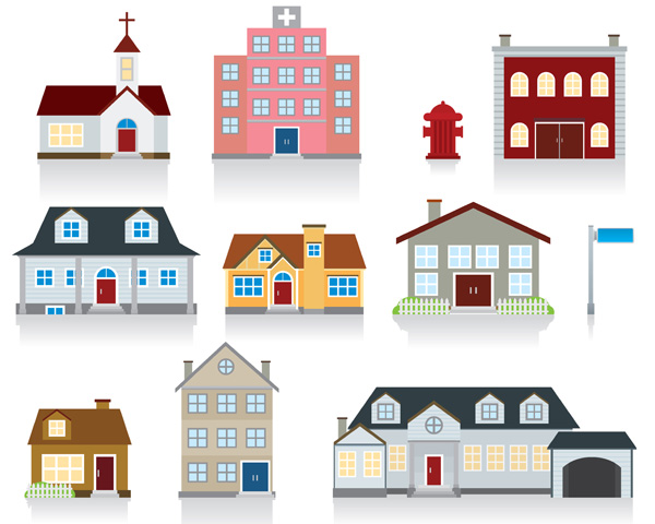 free vector Vector of small house