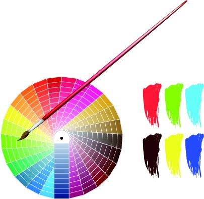 free vector Vector palette
