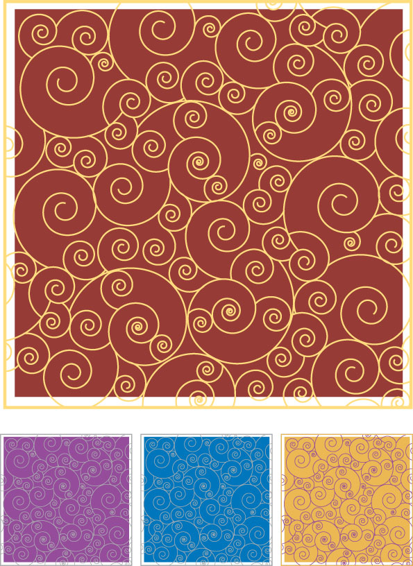 free vector Vector pattern practical background material-2