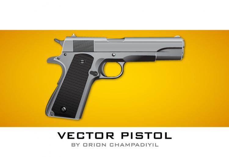 free vector Vector Pistol Icon